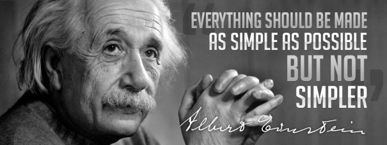 einstein-everything-simple